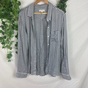 4/$25 Beachlunchlounge striped button down shirt
